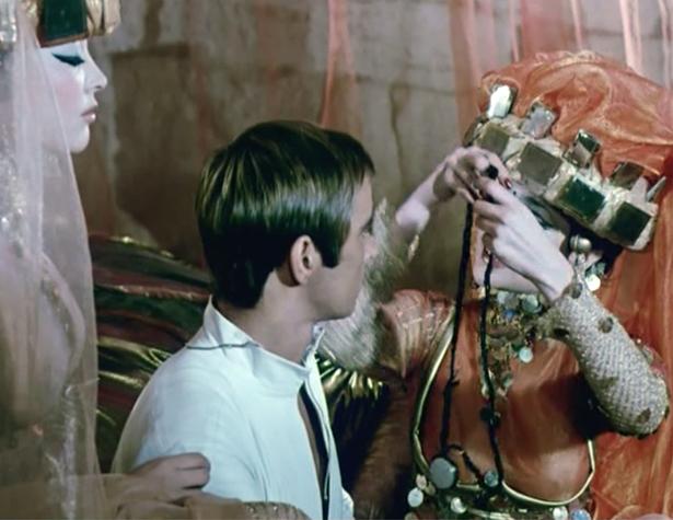 Collier en cheveux offert au héro de la Duchesse d'Avila