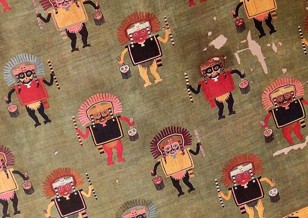 Textiles Paracas comme source d'inspiration