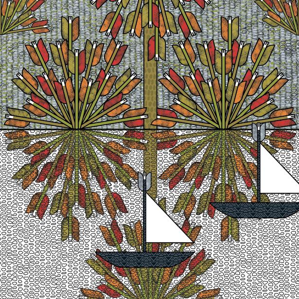 Buissons de flèches
