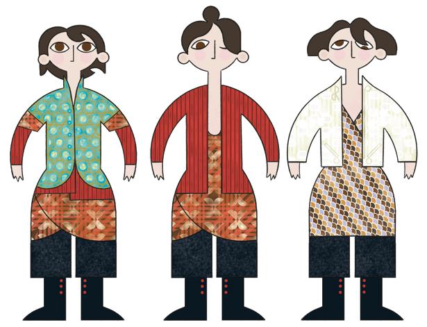 Tenues inspirées par Poiret et l'orientalisme