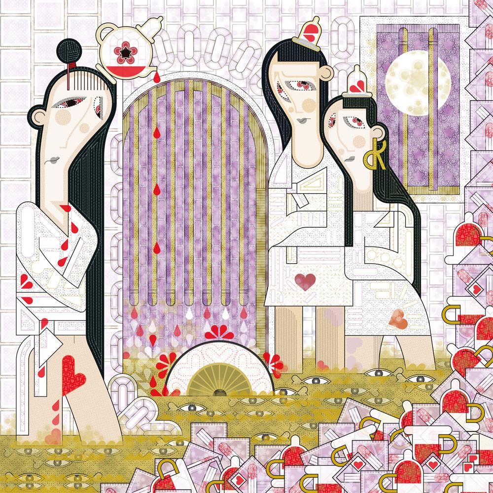 Trois patientes menstruées croupissent à la Salpêtrière sous l'œil attentif et rincé de Charcot