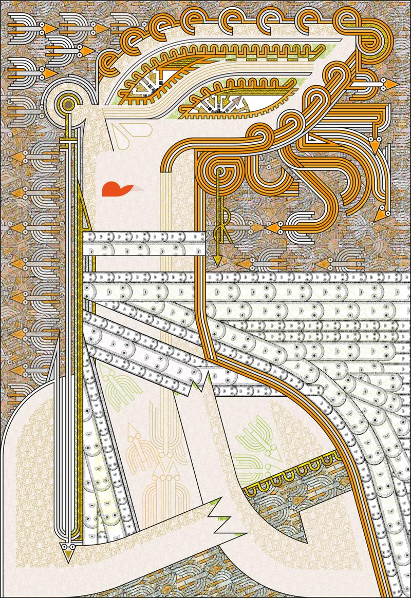 Isadora Duncan enserre son cou d'une longue écharpe flottant au vent
